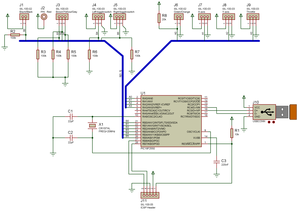 Wiring Diagram Usb Player 25 Images Of A Micro Helm Pcb Joystick Schematic Mini At
