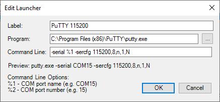 Serial Port Notifier - HelmPCB